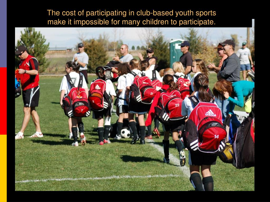The cost of participating in club-based youth sports