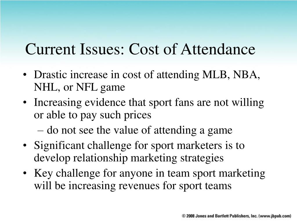 Current Issues: Cost of Attendance