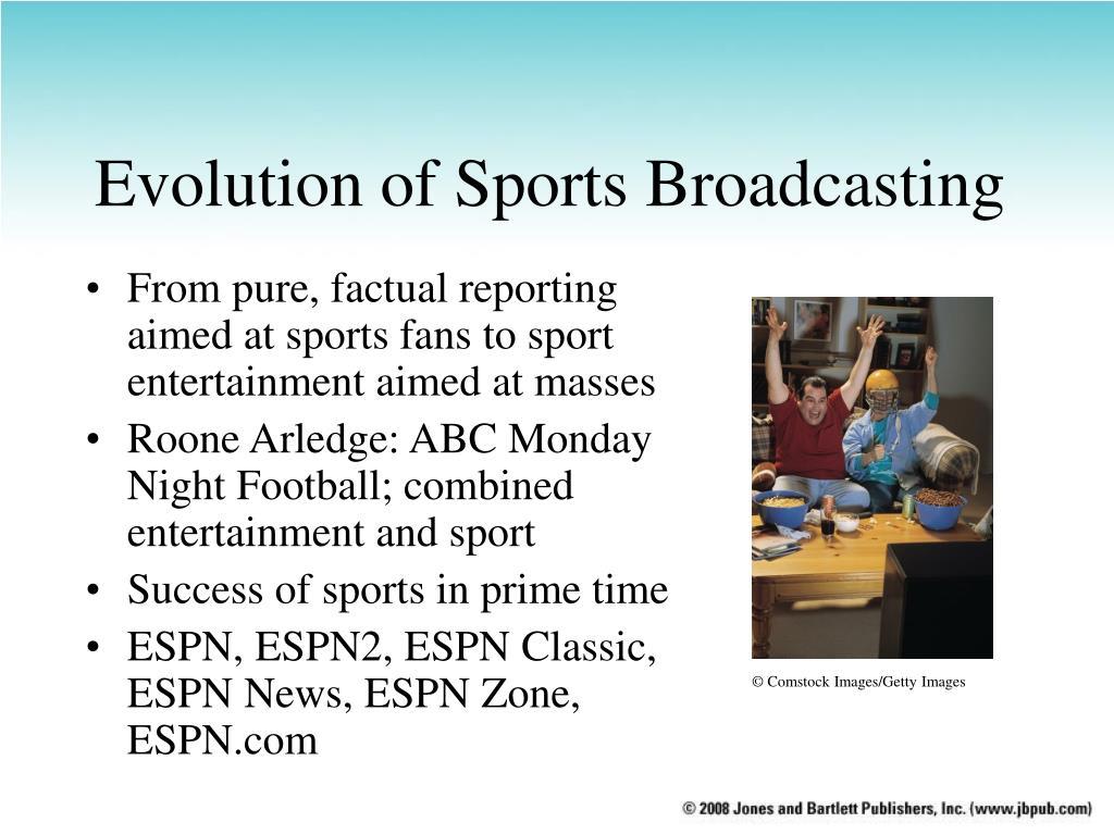 Evolution of Sports Broadcasting