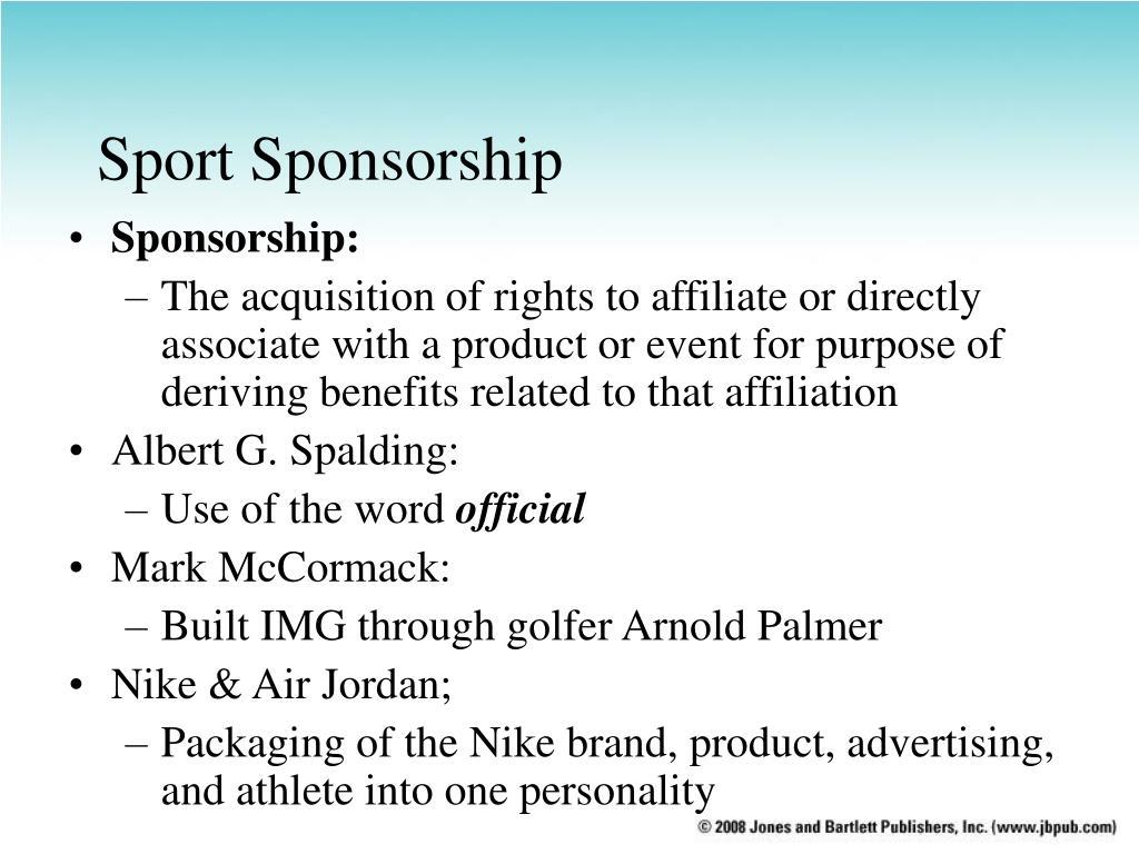 Sport Sponsorship