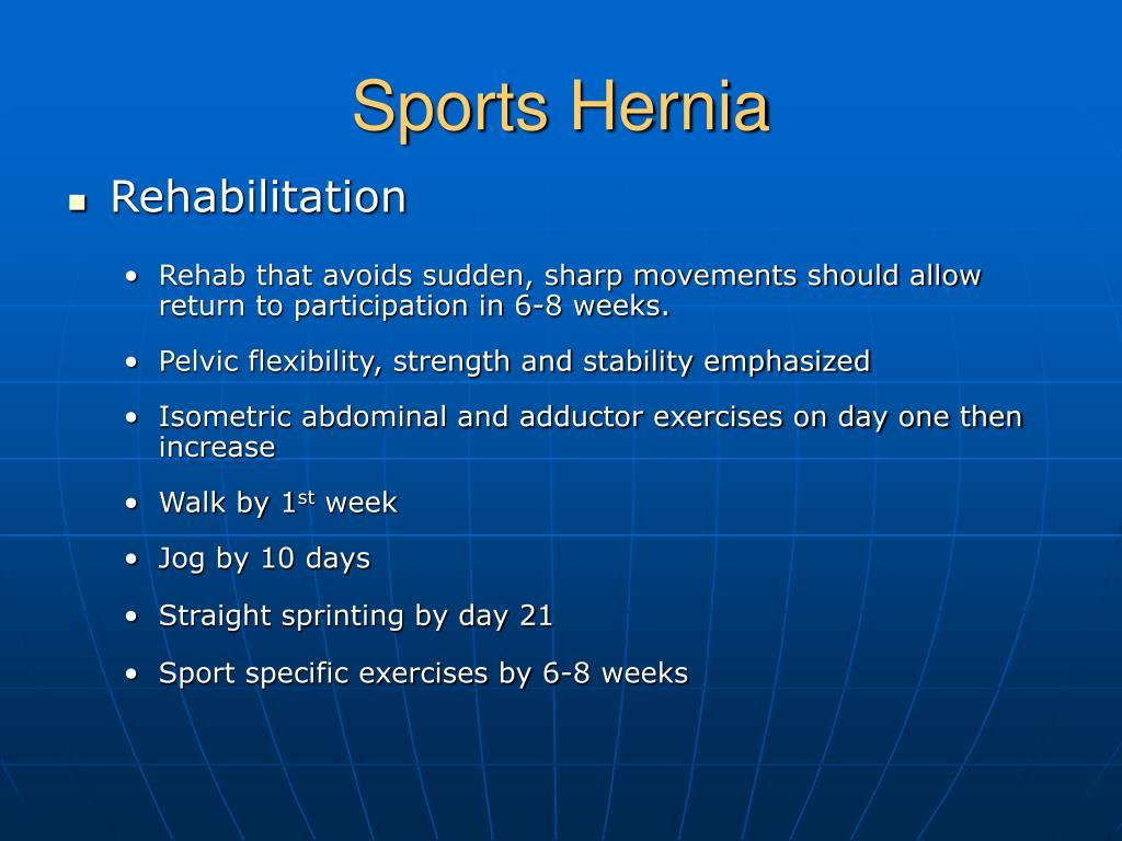 Sports Hernia