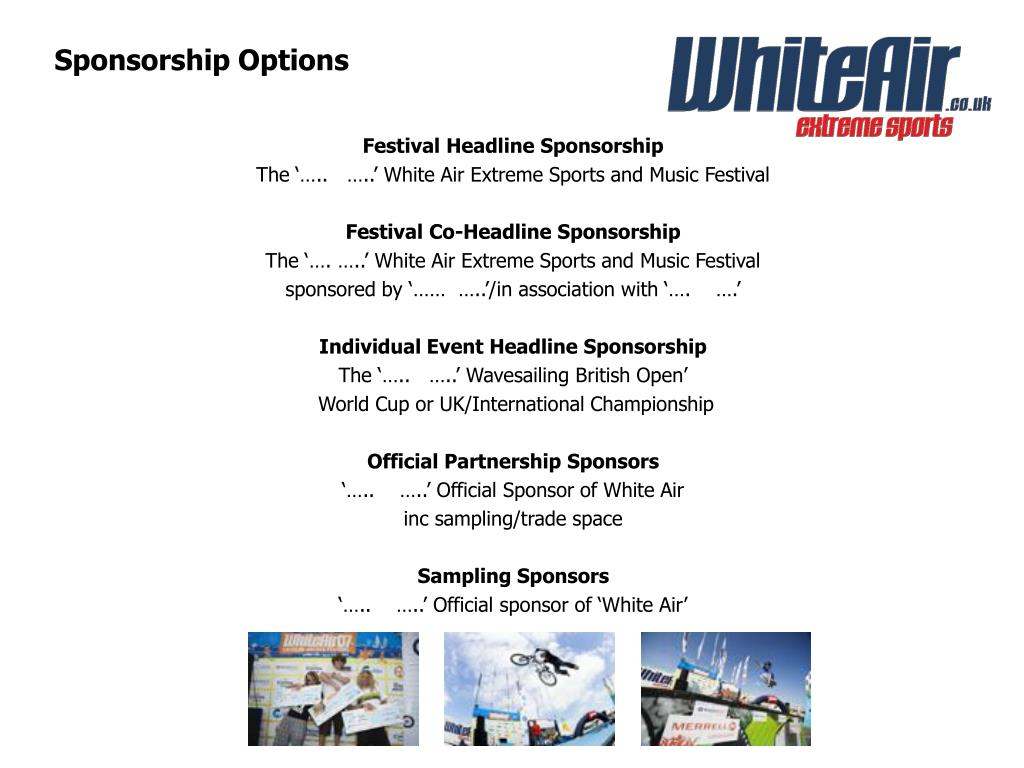 Sponsorship Options