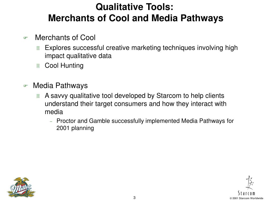 Qualitative Tools: