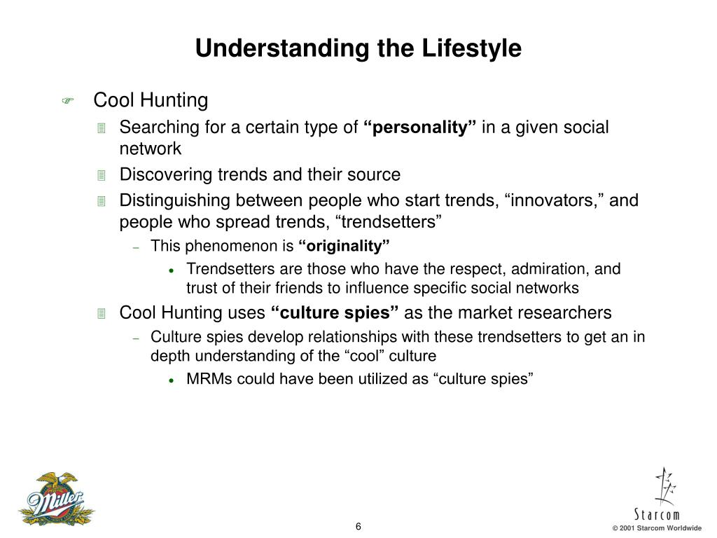 Understanding the Lifestyle