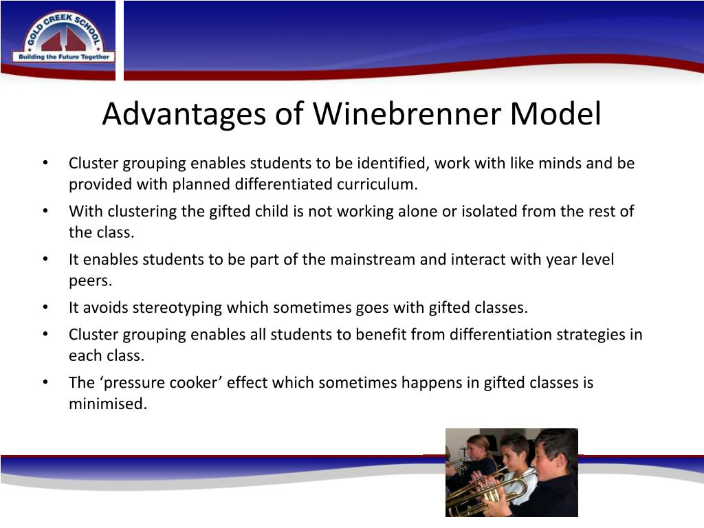 Advantages of Winebrenner Model