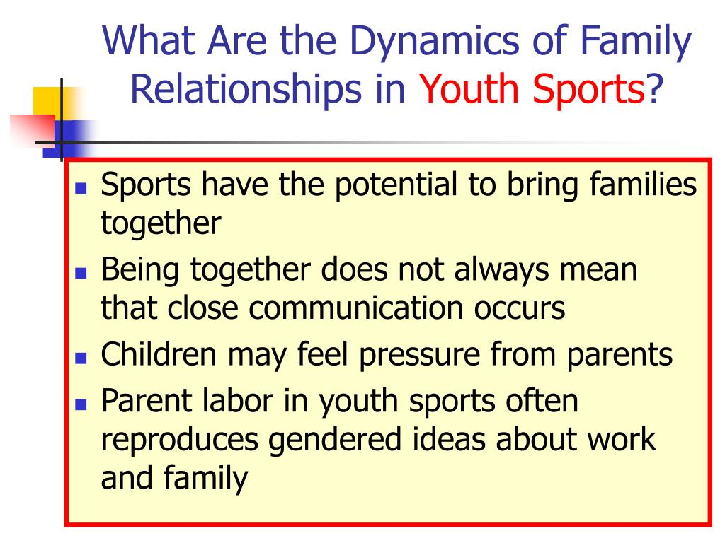 What Are the Dynamics of Family Relationships in
