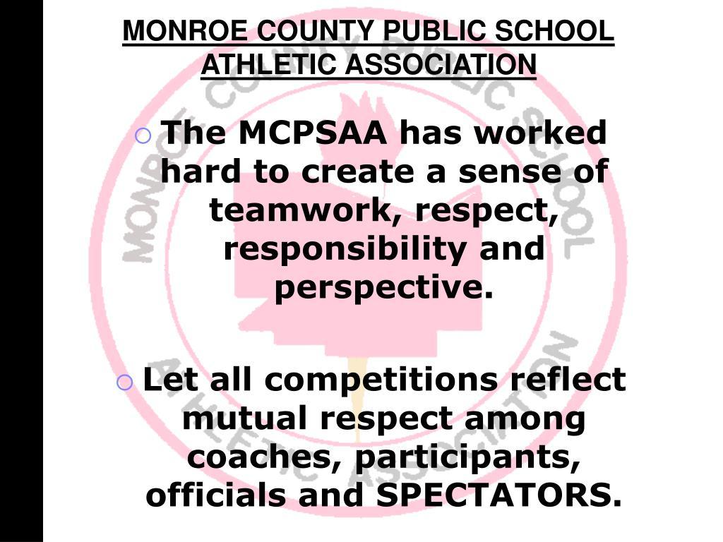 MONROE COUNTY PUBLIC SCHOOL