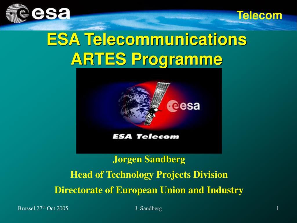 ESA Telecommunications