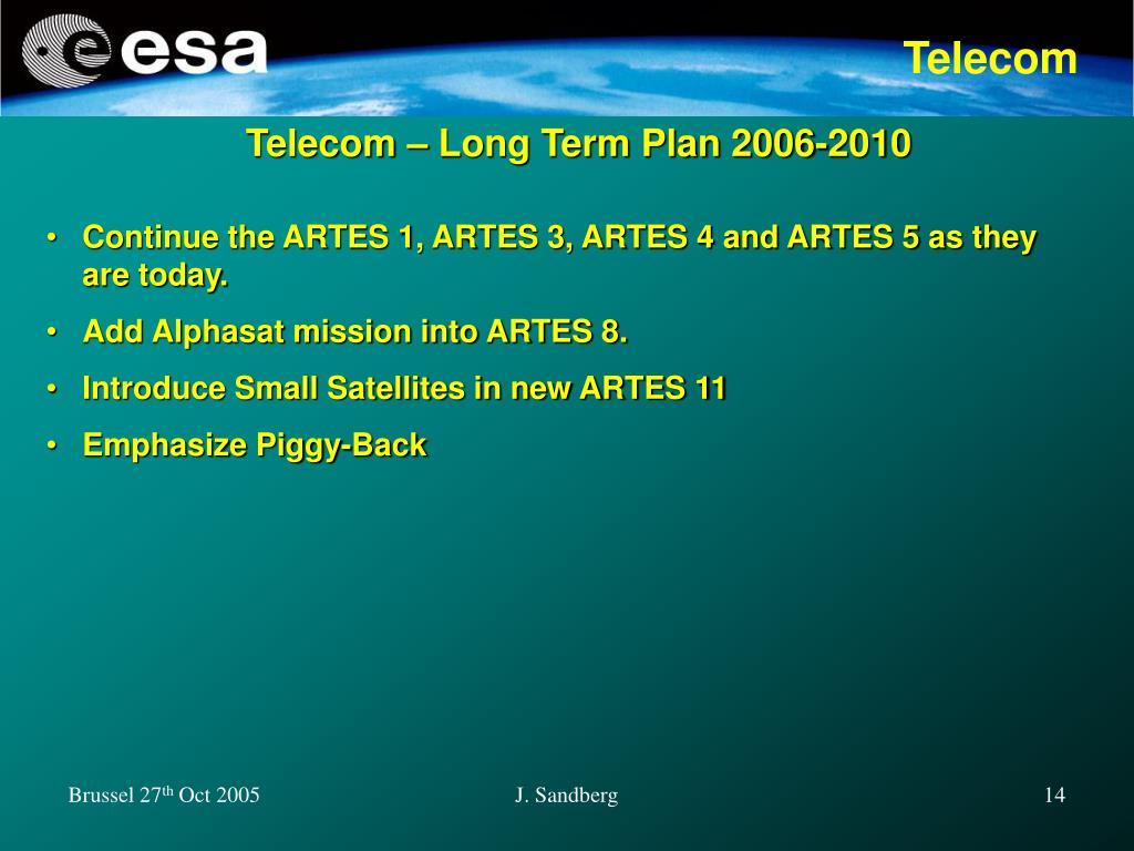Telecom – Long Term Plan 2006-2010