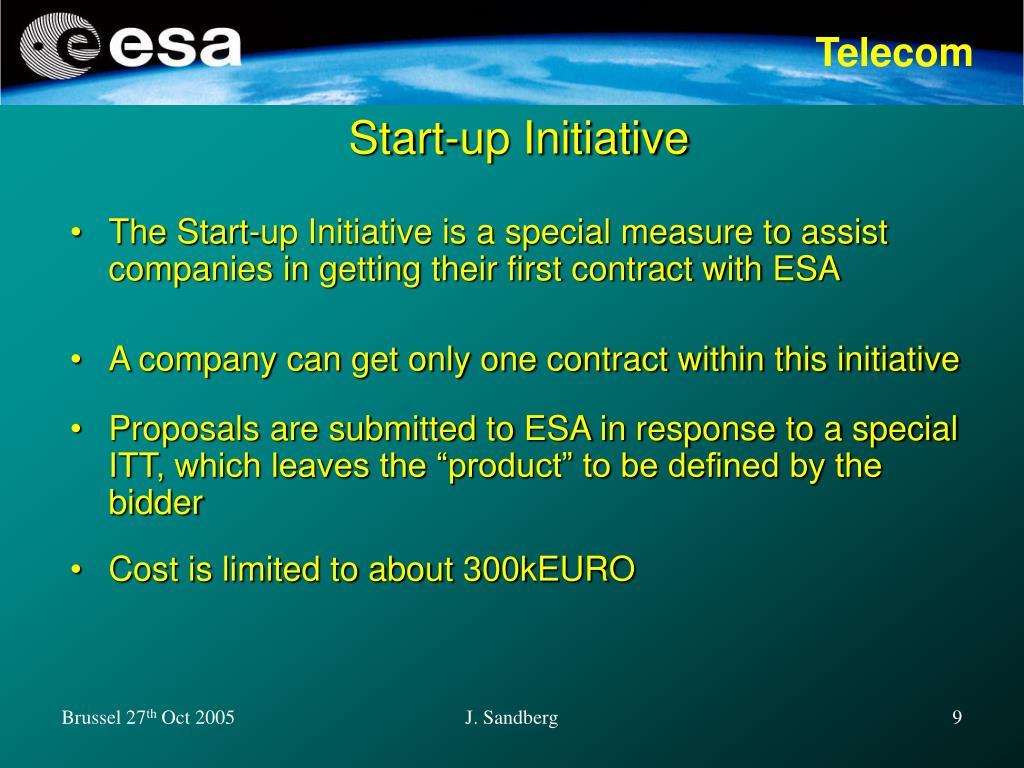 Start-up Initiative
