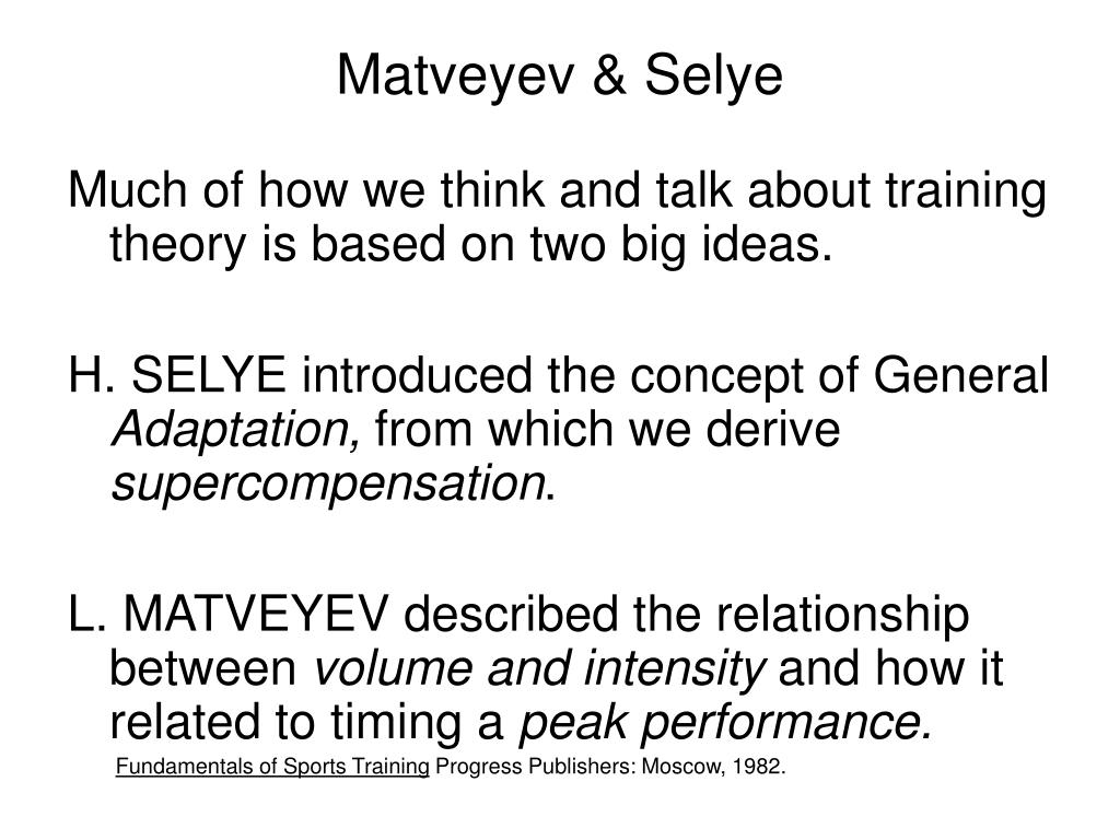 Matveyev & Selye