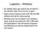 logistics athletics6