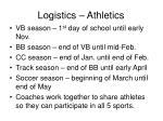 logistics athletics7
