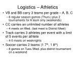 logistics athletics8