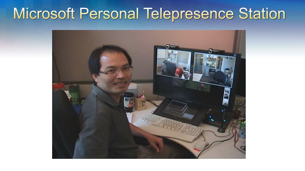 Microsoft Personal Telepresence Station