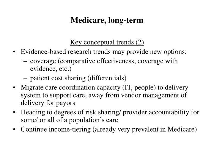 Medicare, long-term