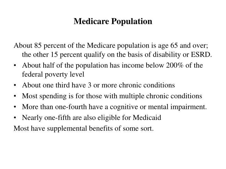 Medicare Population