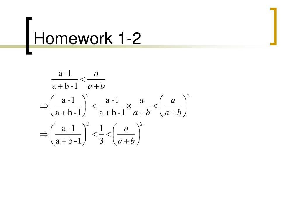 Homework 1-2