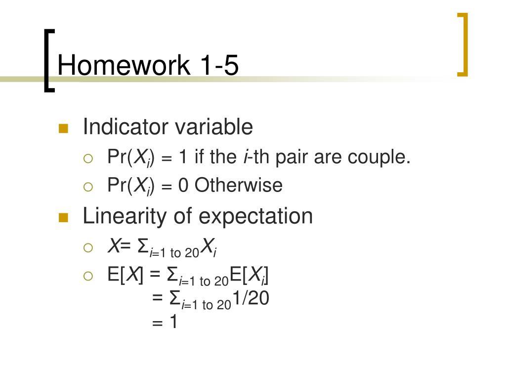 Homework 1-5