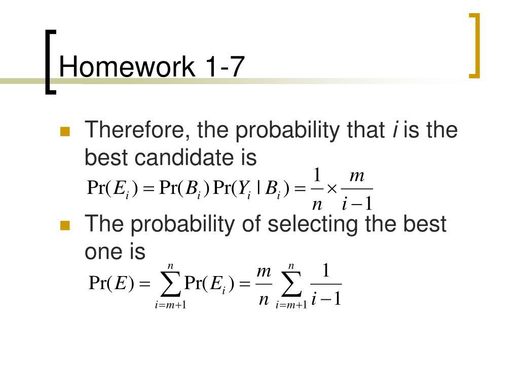 Homework 1-7