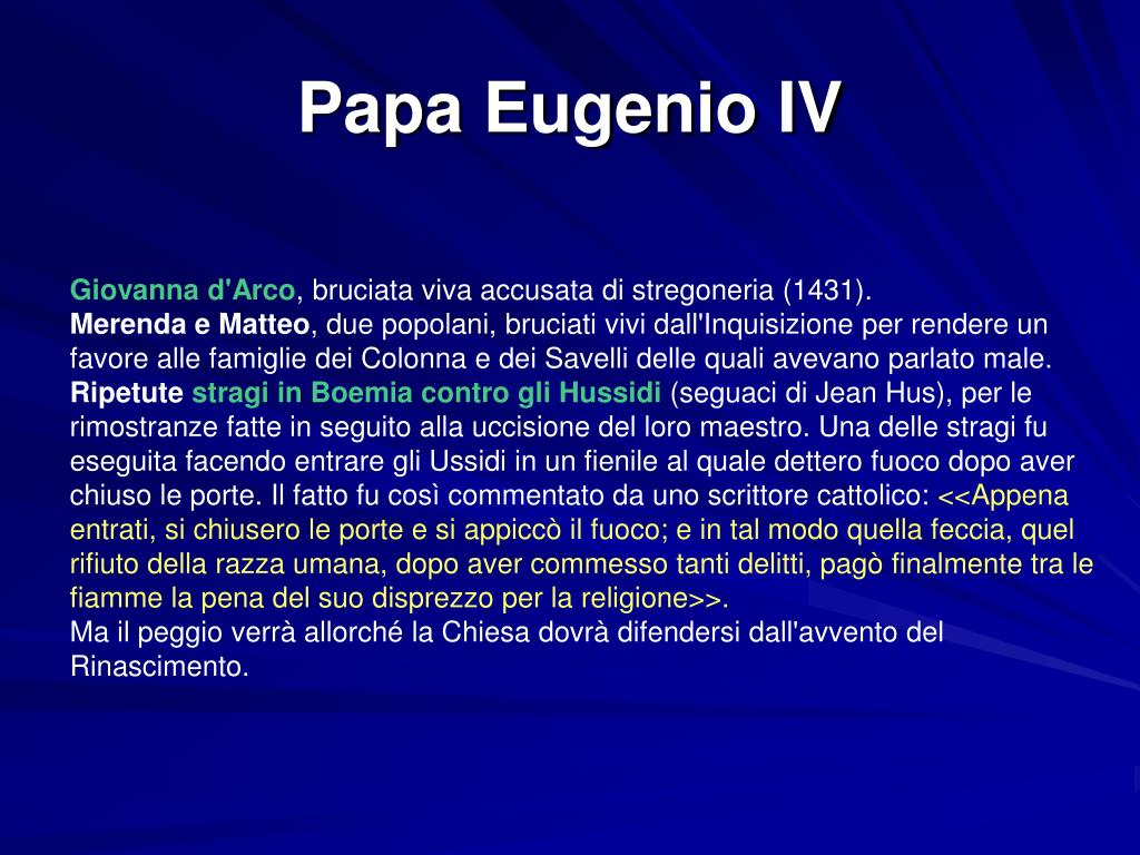 Papa Eugenio IV