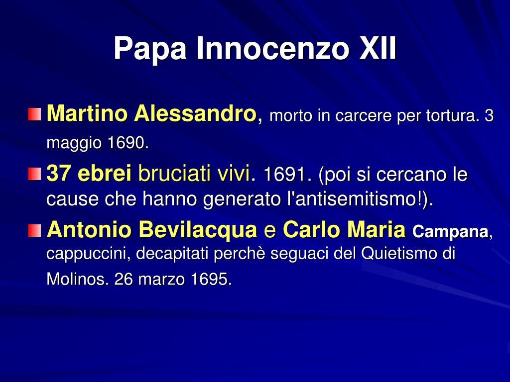 Papa Innocenzo XII