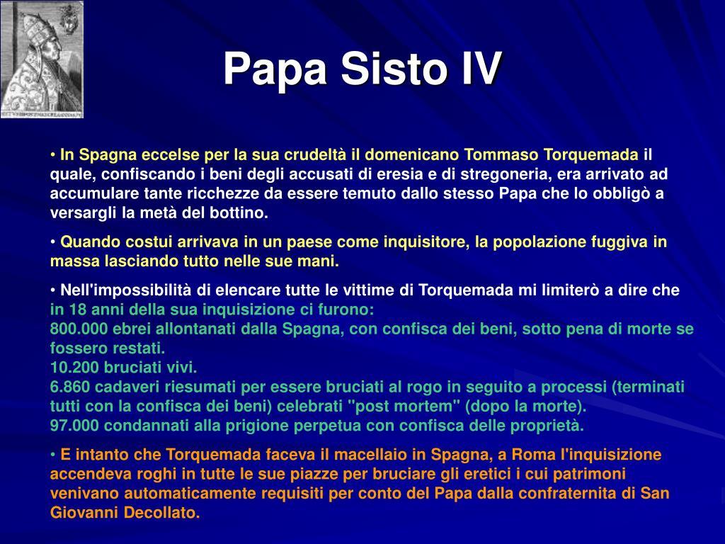Papa Sisto IV