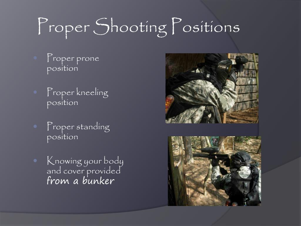 Proper Shooting Positions