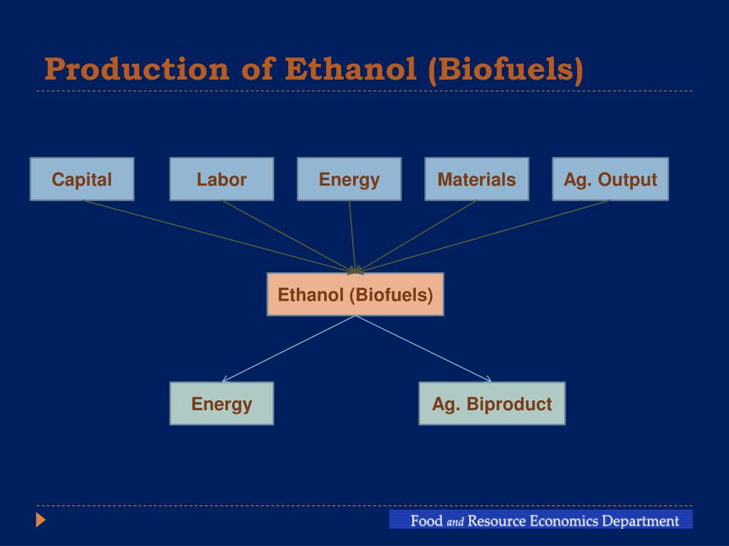 Production of Ethanol (