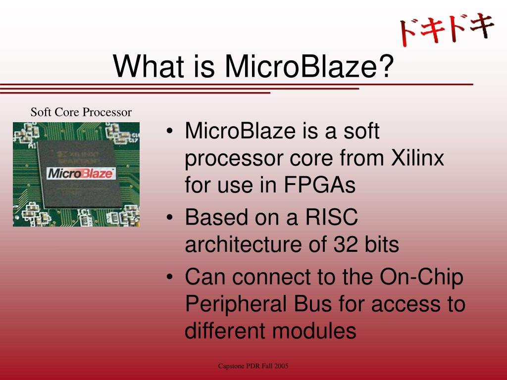 What is MicroBlaze?
