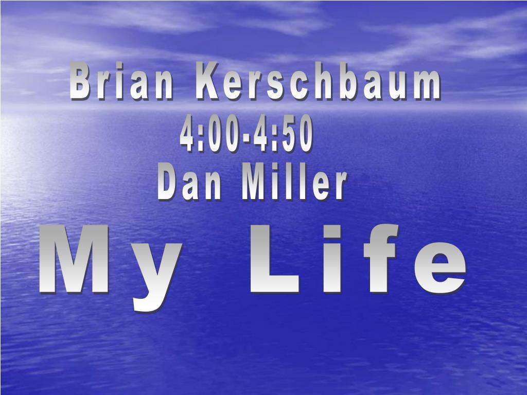 Brian Kerschbaum