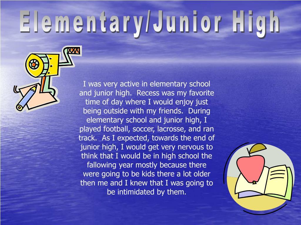 Elementary/Junior High