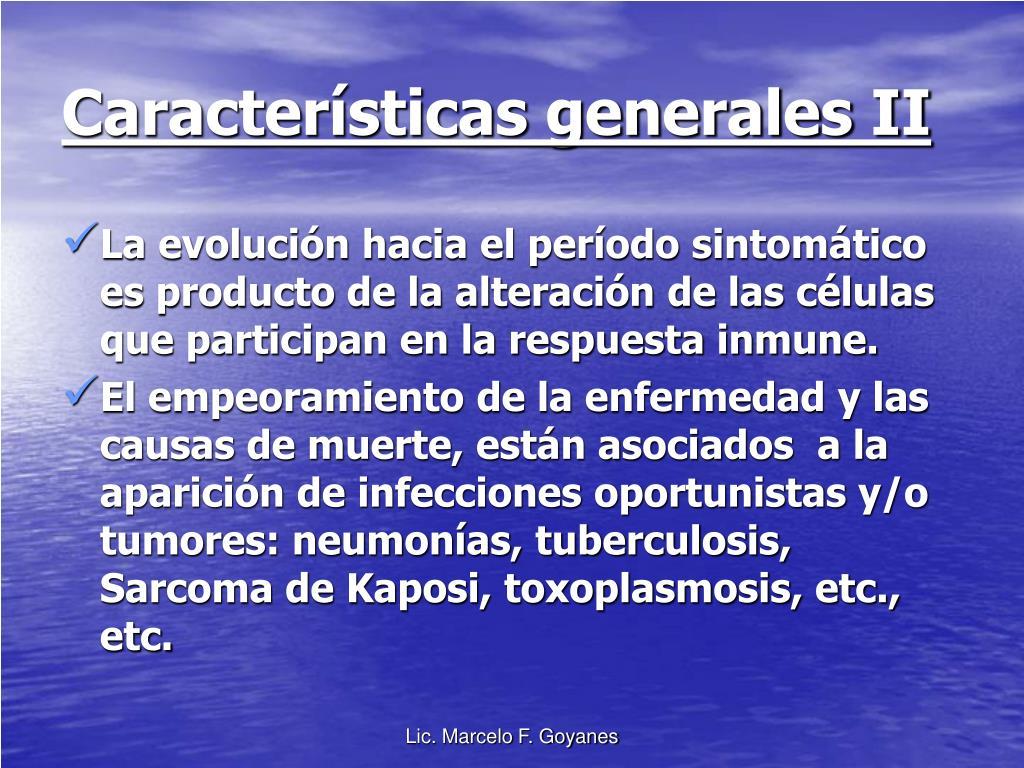 Características generales II
