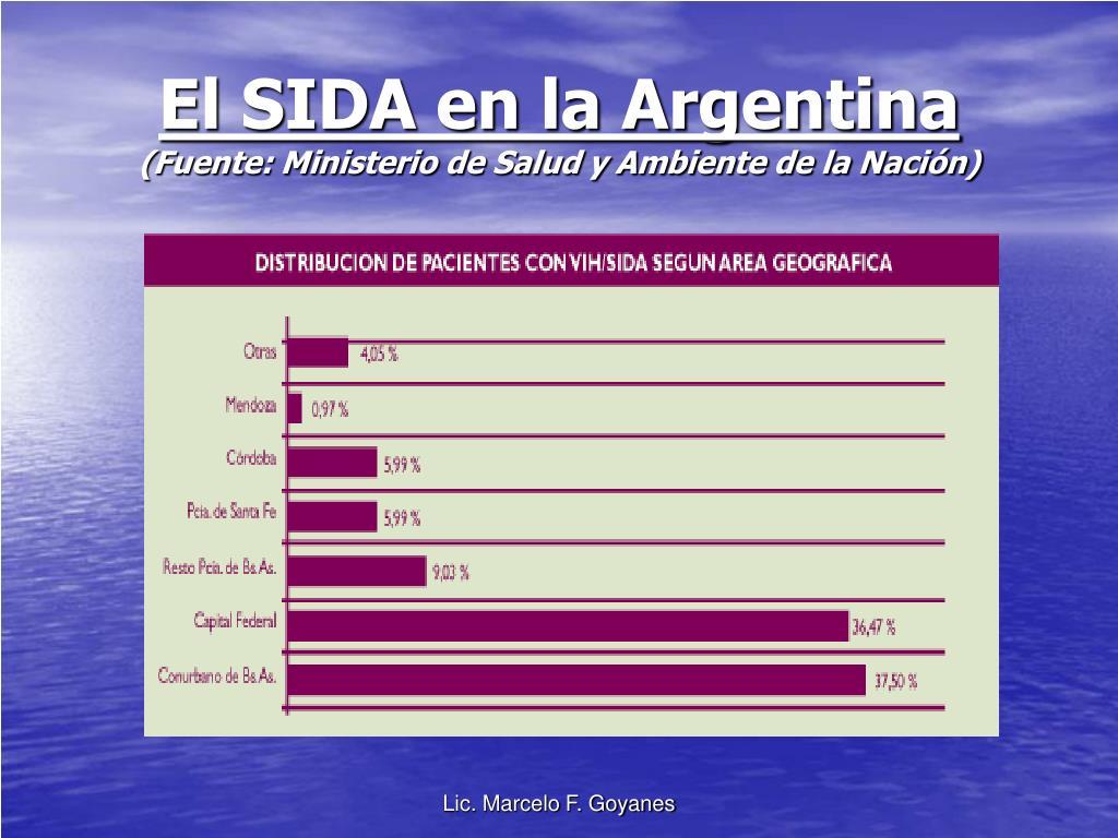 El SIDA en la Argentina