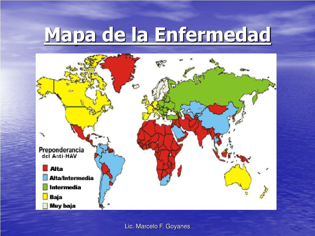 Mapa de la Enfermedad