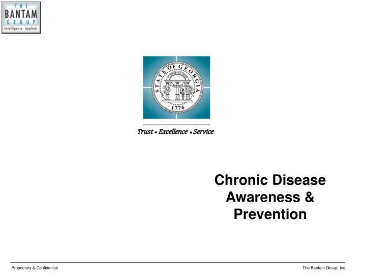 Chronic Disease Awareness & Prevention