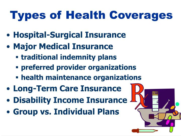 Types of Health Coverages