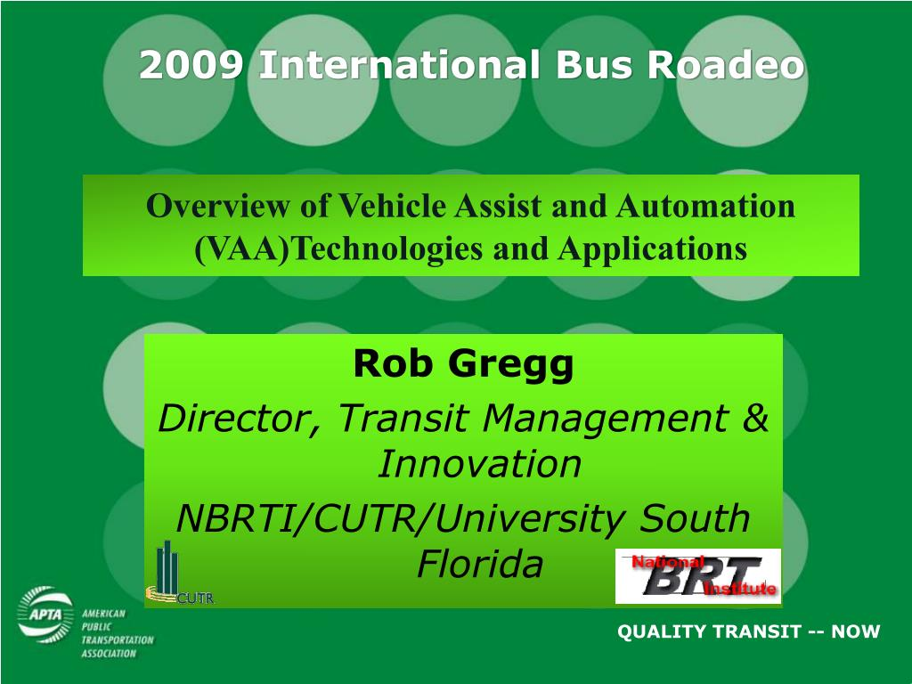 2009 International Bus Roadeo