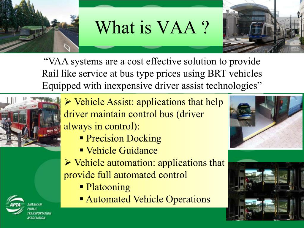 What is VAA ?