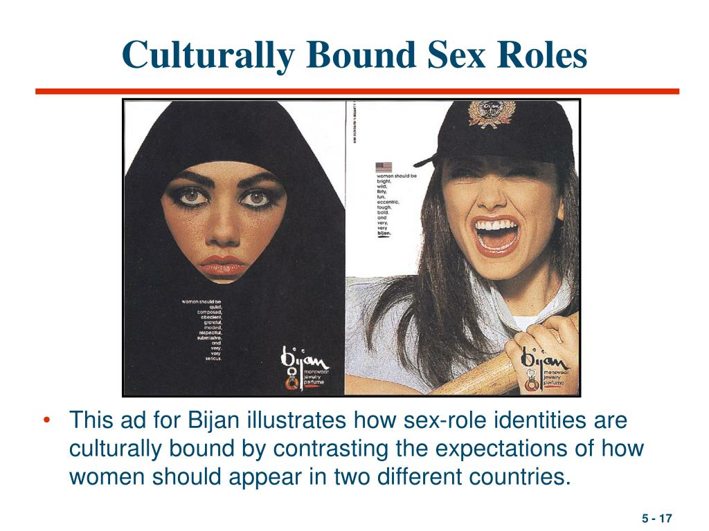 Culturally Bound Sex Roles