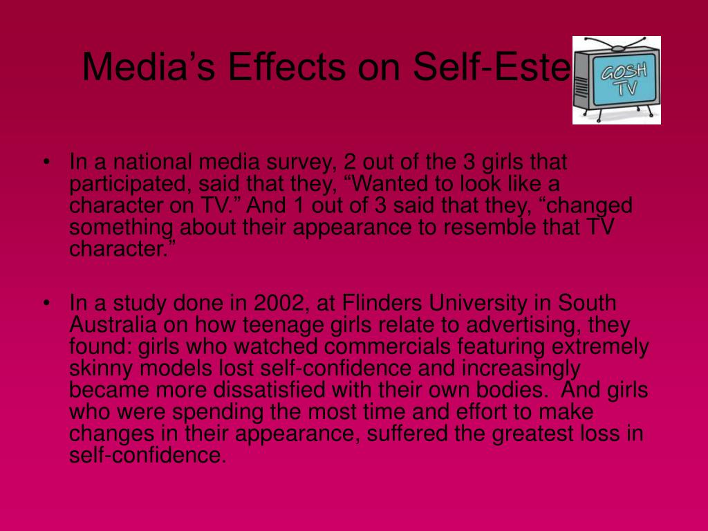 Media's Effects on Self-Esteem