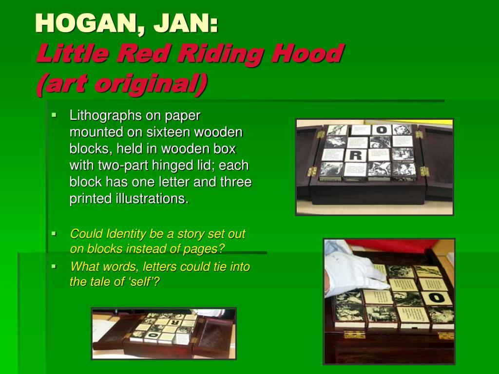 HOGAN, JAN: