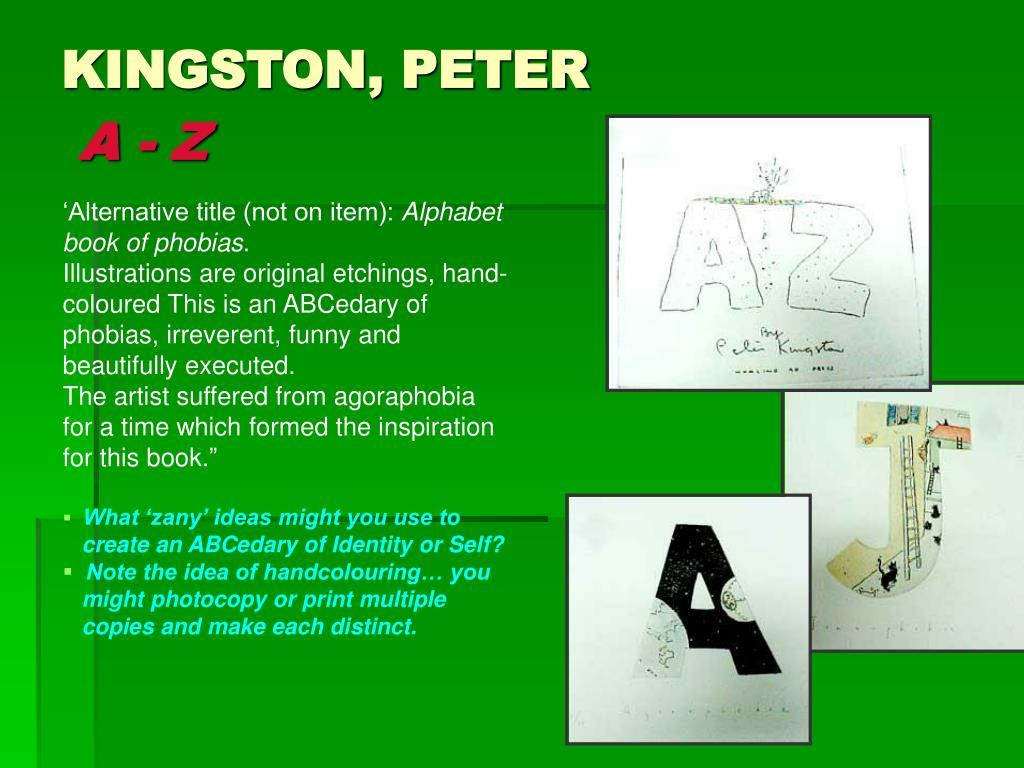 KINGSTON, PETER