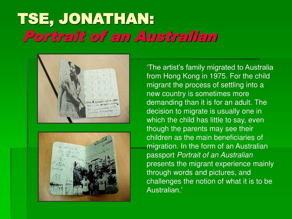 TSE, JONATHAN: