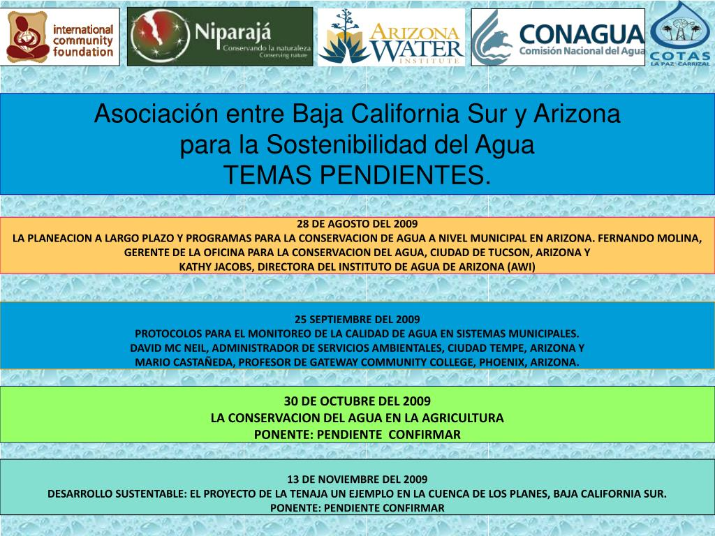 Asociación entre Baja California Sur y Arizona