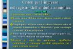 criteri per l ingresso nel registro dell embolia amniotica clark 1988