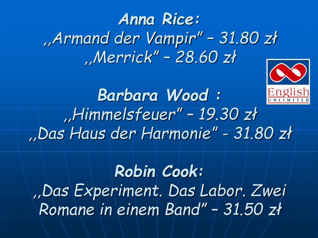 Anna Rice: