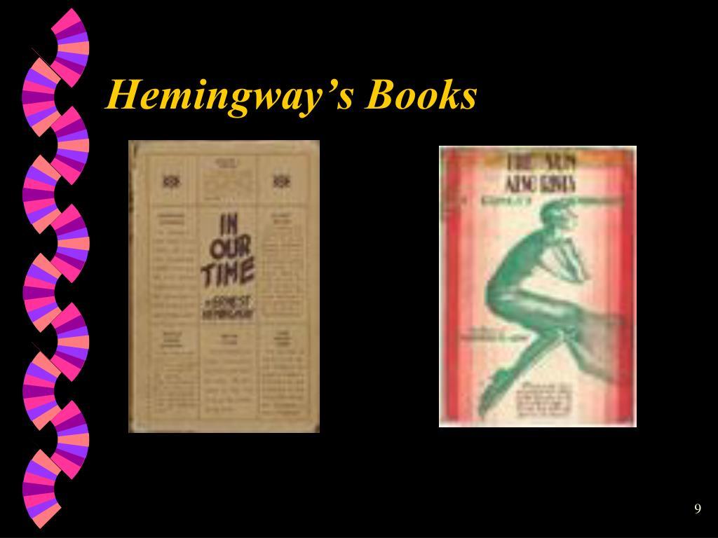Hemingway's Books
