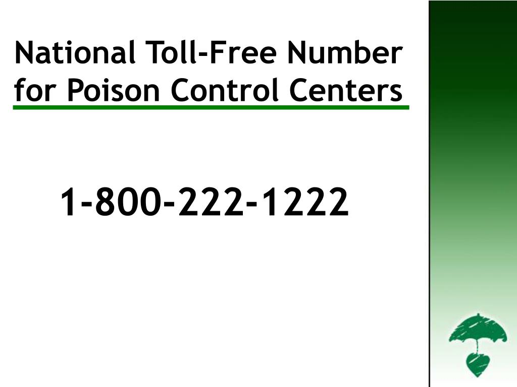 National Toll-Free Number