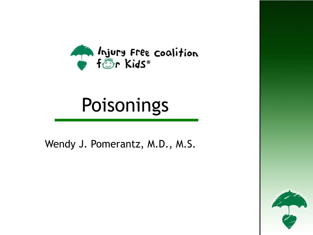 Poisonings